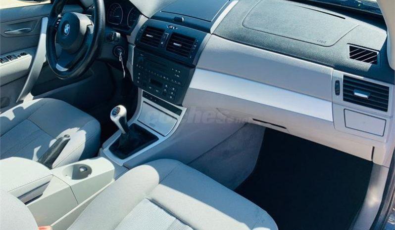 BMW X3 2.0d lleno